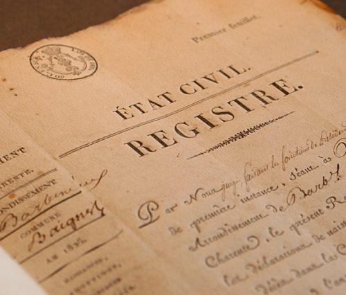 registre-état civil